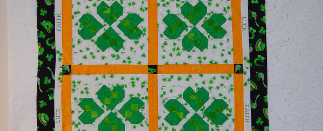 free-st-patricks-quilt-pattern by Moonlight Quilts