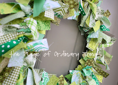 st-patricks-day-wreath-diy by Jenny T. of Simple Sewing