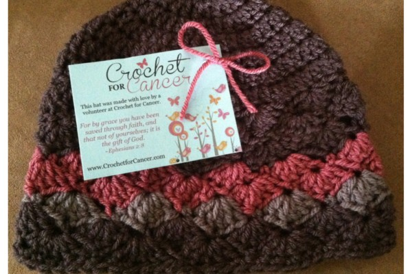 Crochet pattern for hats cancer patients