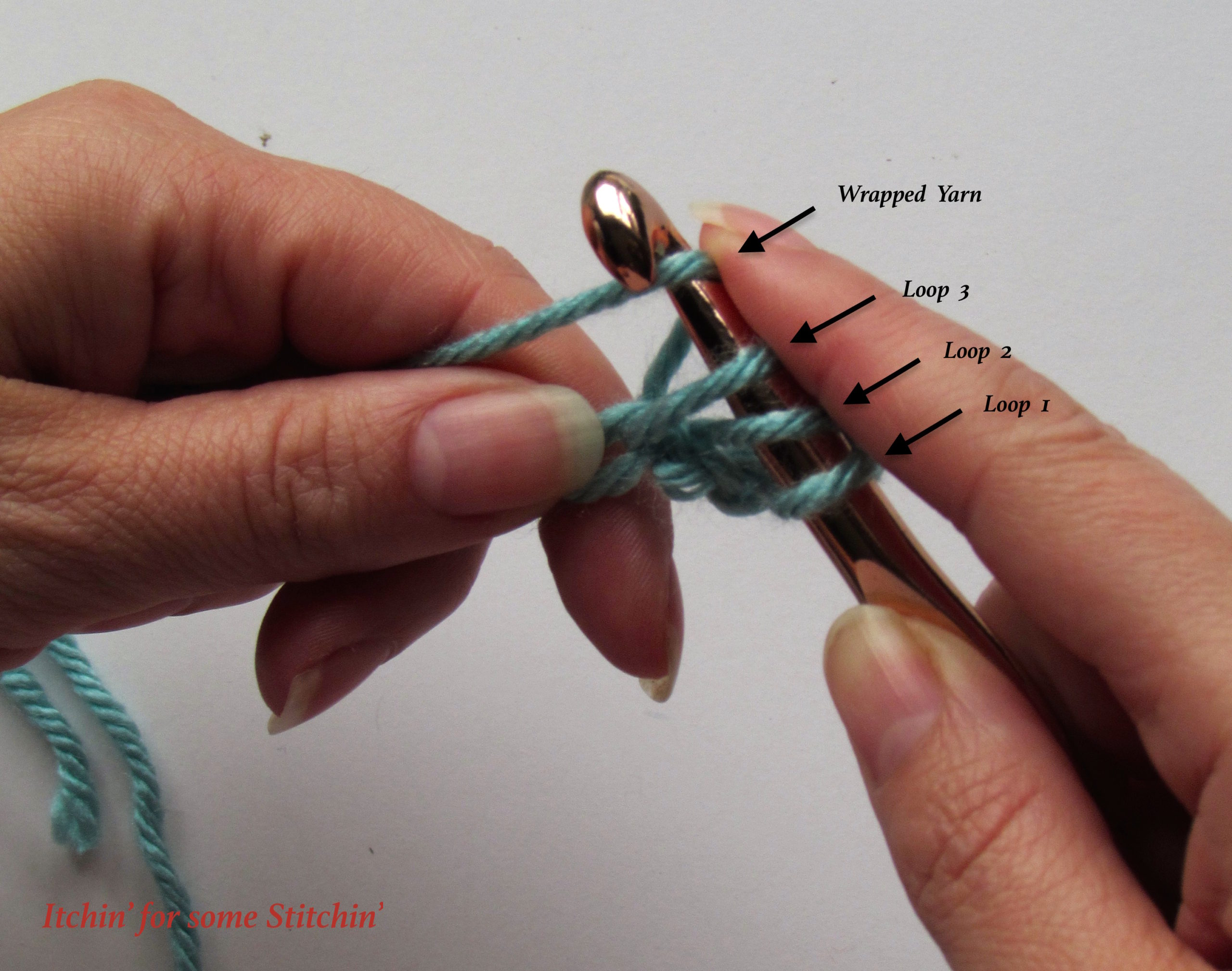 Beginner Crochet: How to Double Crochet - Itchin' for some
