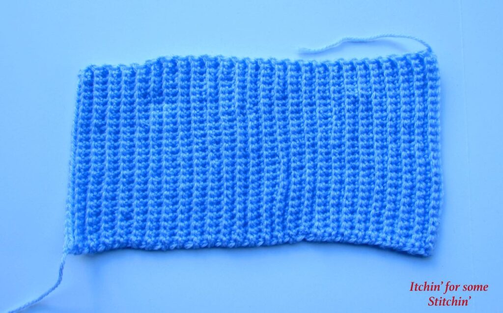 Crochet Ribbed Baby Beanie Pattern by www.itchinforsomestitchin.com