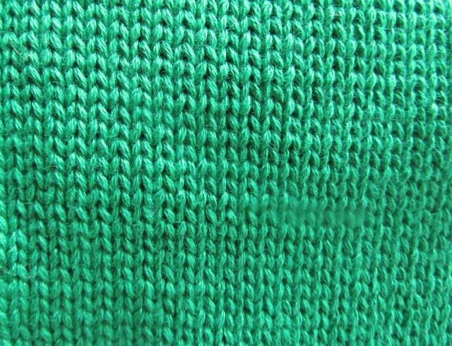 Knit fabric. https://www.itchinforsomestitchin.com