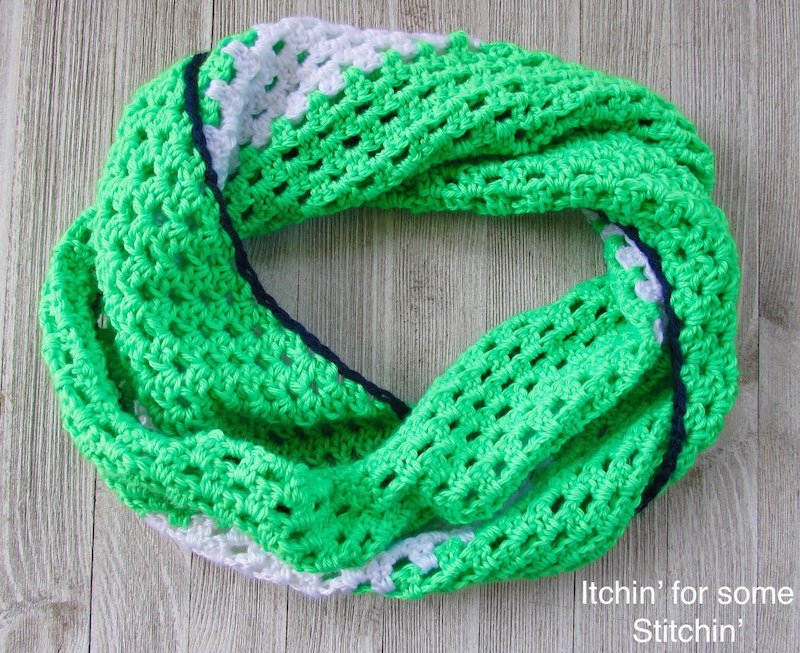 The Samantha-Bold and Beautiful Twisted Cowl