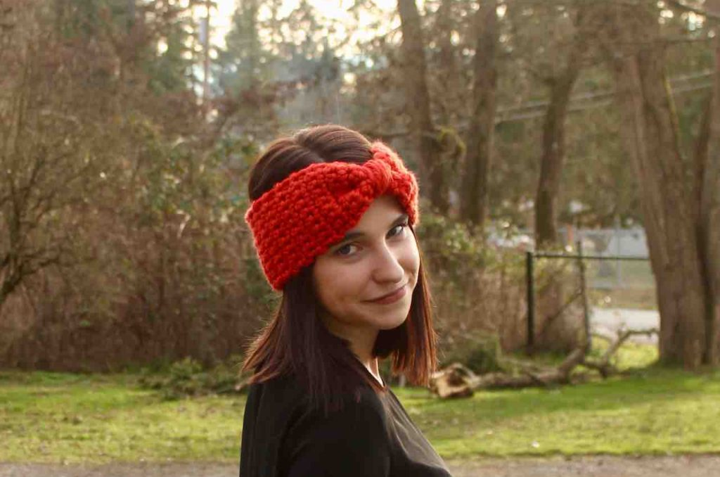 Beginner Crochet Head Warmer Itchin For Some Stitchin