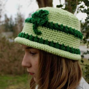 St. Patrick's Day Bowler Hat by itchinforsomestitchin.com