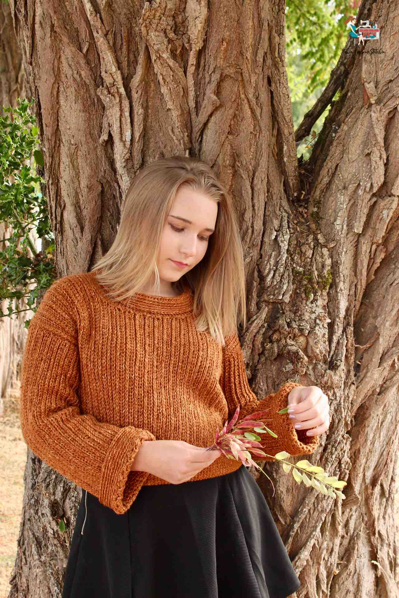 crochet ribbed sweater by itchinforsomestitchin.com