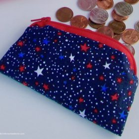 Red, White, and Blue coin purse by itchinforsomestitchin.com