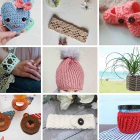 15 Stash-buster Crochet Projects Roundup by itchinforsomestitchin.com