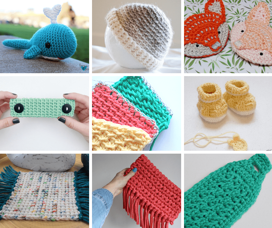 31 Quick and Easy Crochet Projects That'll Keep Your Hook a Hookin'!