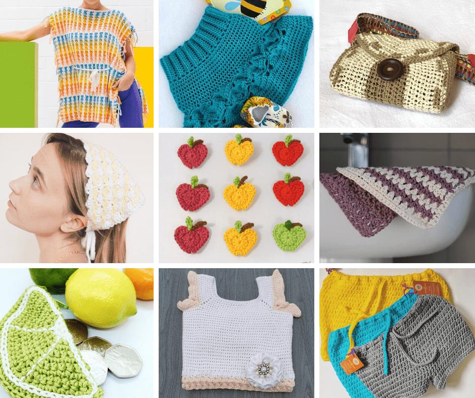 13 Easy Breezy Crochet Patterns For Summer