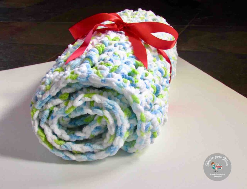 crochet seed stitch baby blanket