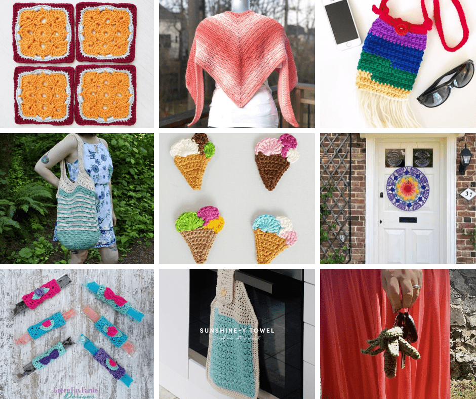 Summer Vibes Crochet Projects
