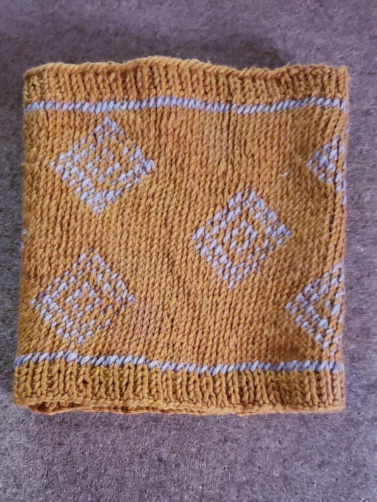 rough knit cowl