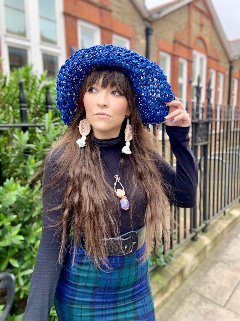 crochet day dreamer ear rings