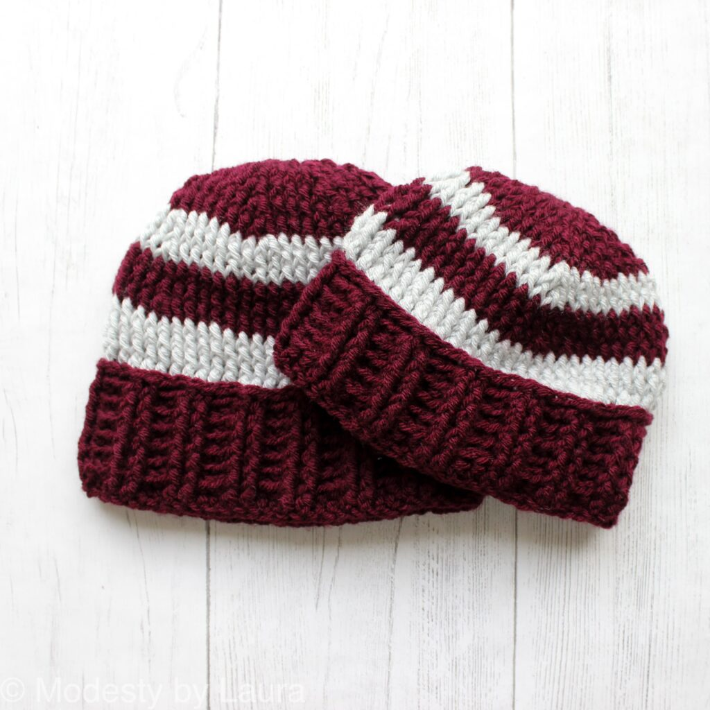 Monarch Beanie by Modesty by Laura