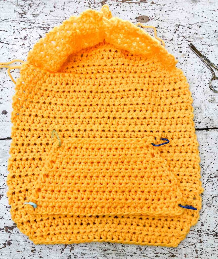 how to crochet the small dog sweater