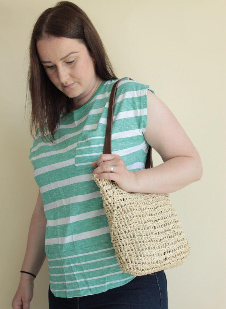 crochet summer raffa bag