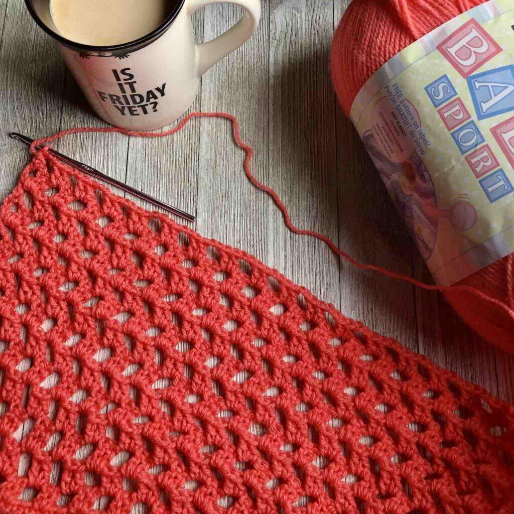 crochet bernat baby sport