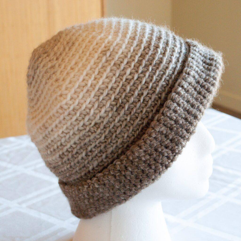 spiral type hat