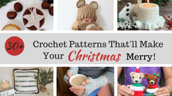 Crochet Patterns that'll make your Christmas merry!