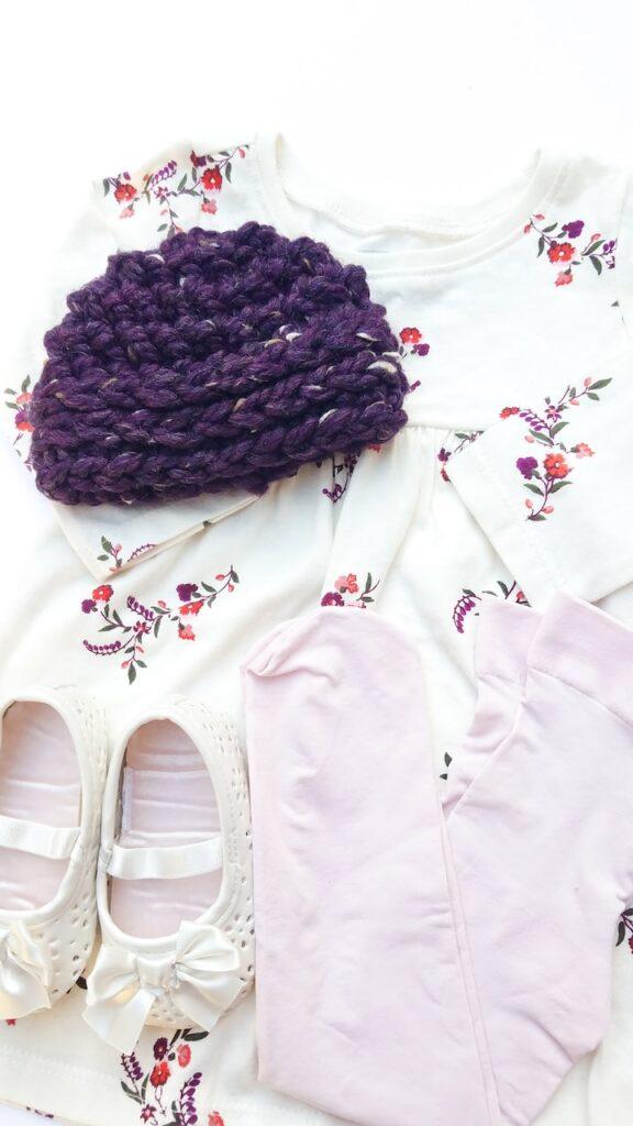 crochet Moxy beanie