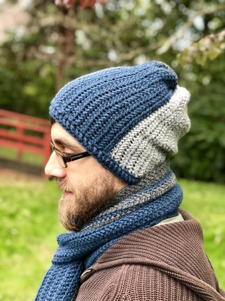 crochet ride beanie