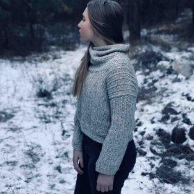 Crochet Turtleneck Free Pattern
