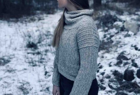 Crochet Turtleneck Free Pattern
