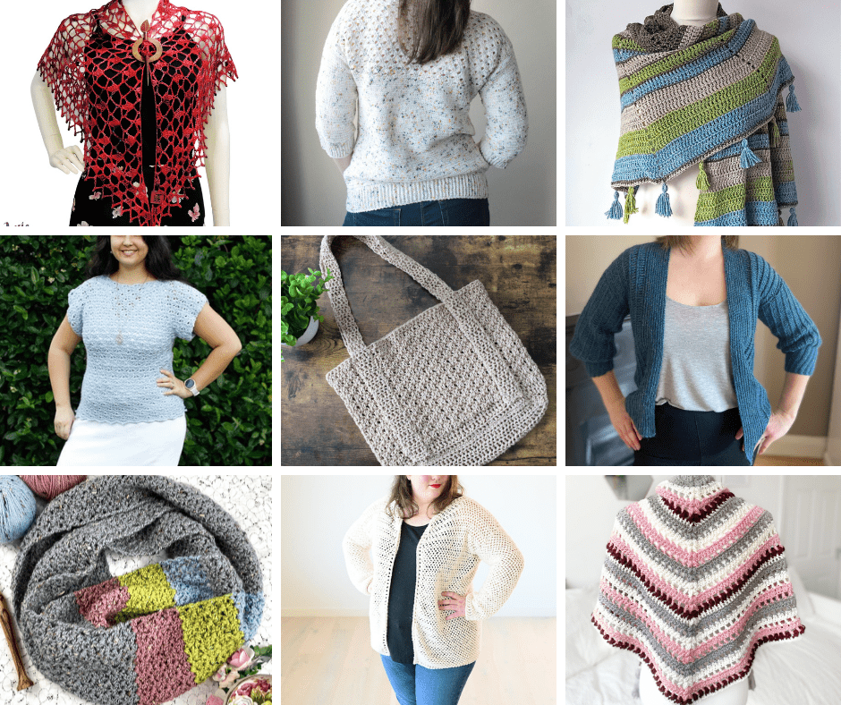 31 Crochet Projects for Spring