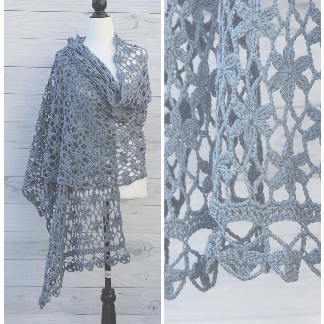 The Orchid Shawl by Rich Textures Crochet