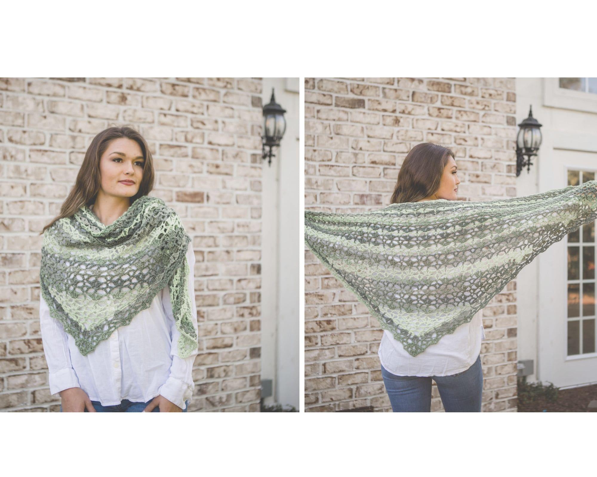 Chroma Shawl by Creation 8 Crochet