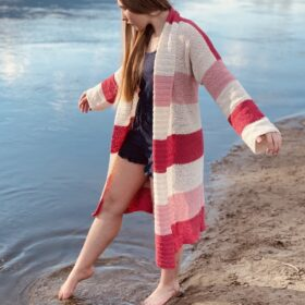 Crochet Summer Cardigan by Itchin' for some Stitchin'