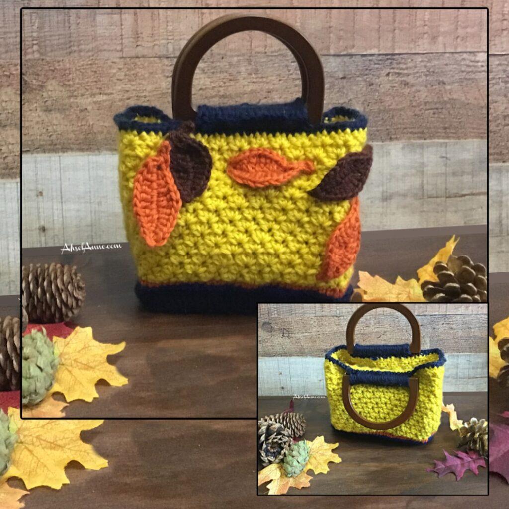 The Catch the Fall Crochet Purse by Ahsel Anne Crochet