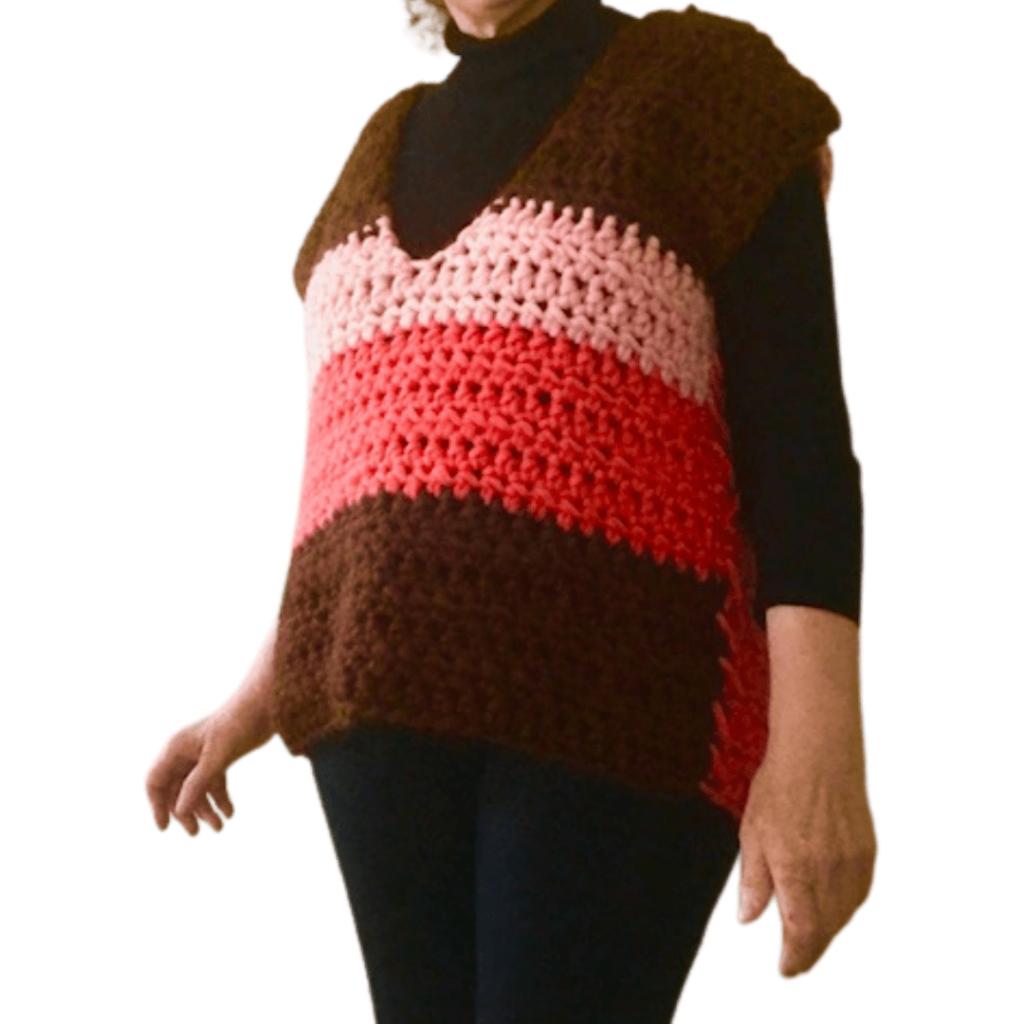 Crochet Sweater Vest Pattern