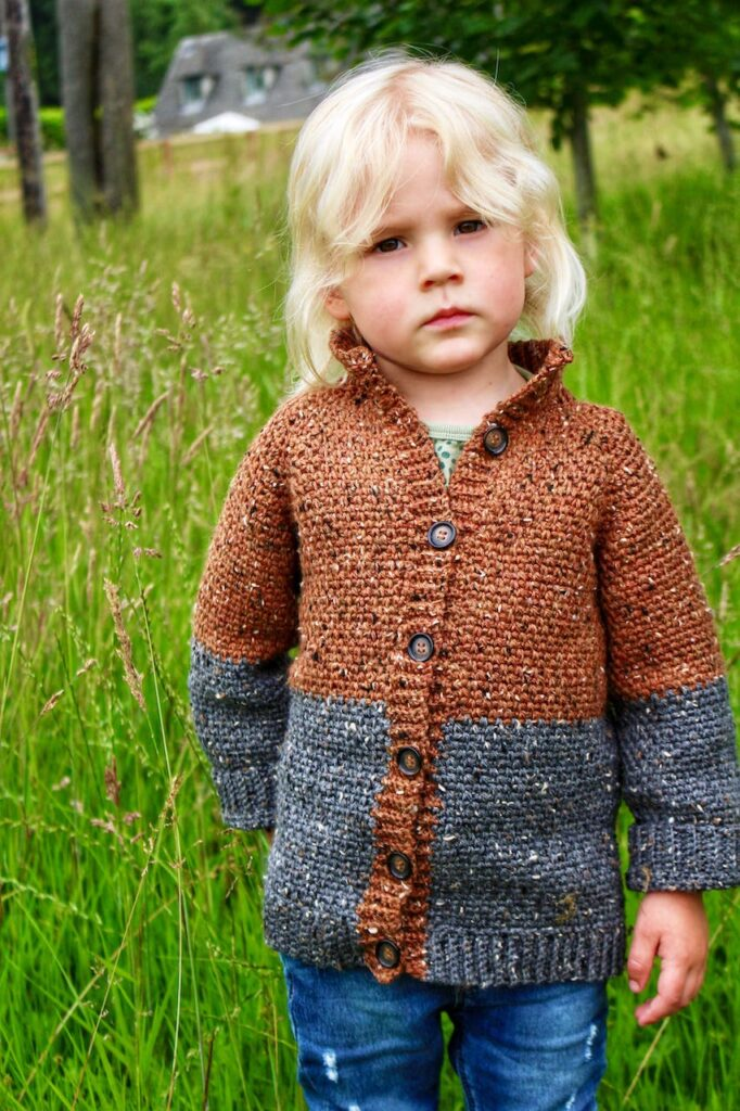 The Sawyer Crochet Cardigan by the Moule Hole