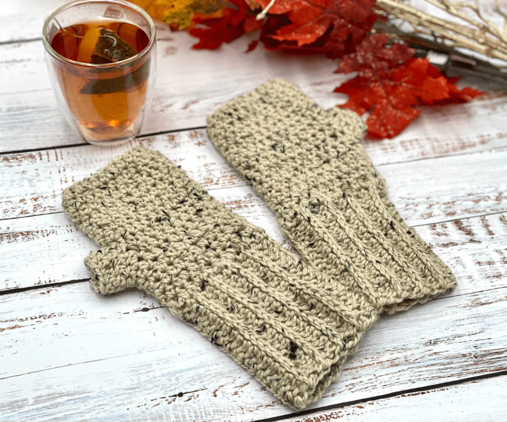 The Galloway Crochet Gloves by Through the Loop Yarn Craft