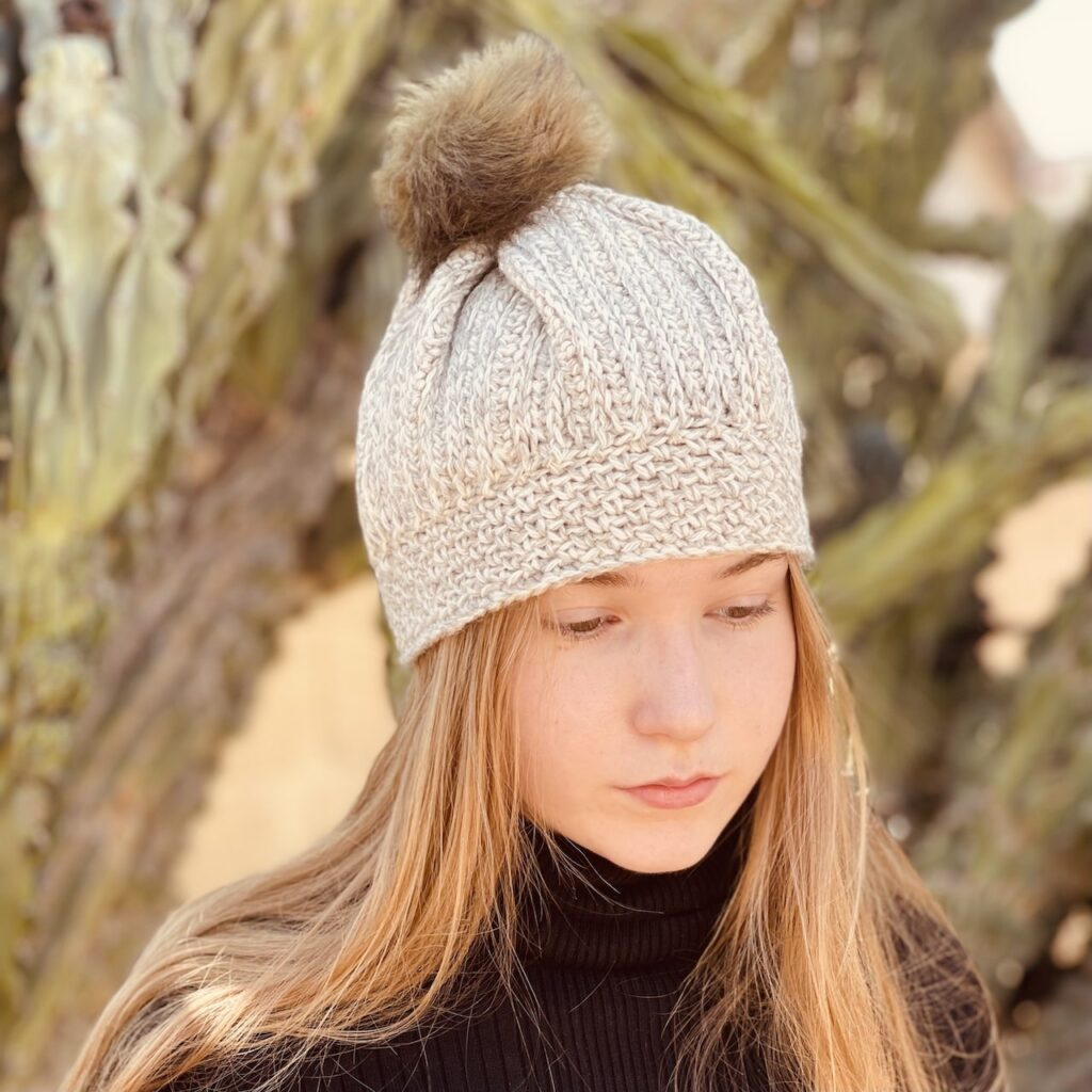 The Moravia Beanie by Itchin' for some Stitchin'