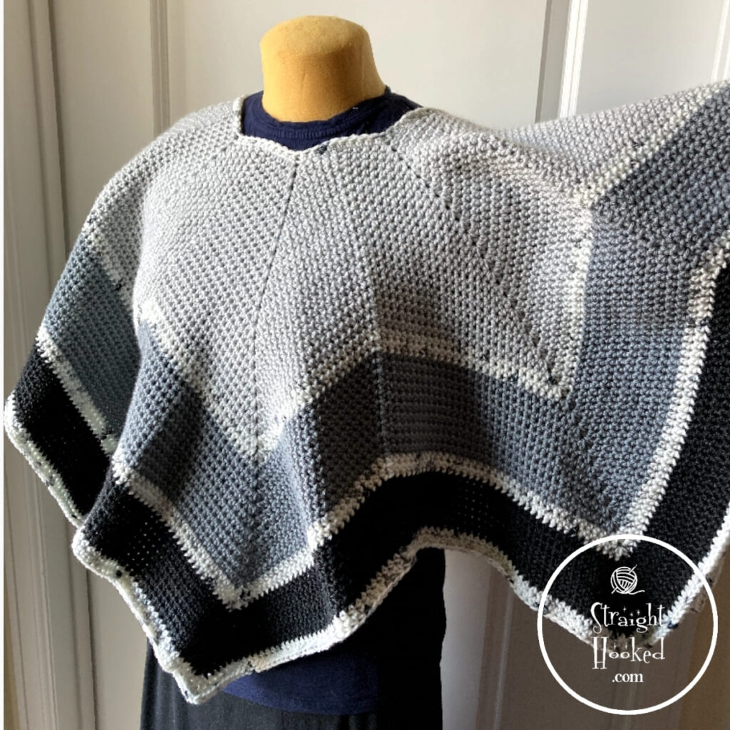 The Perfect Poncho by Straight Hooked