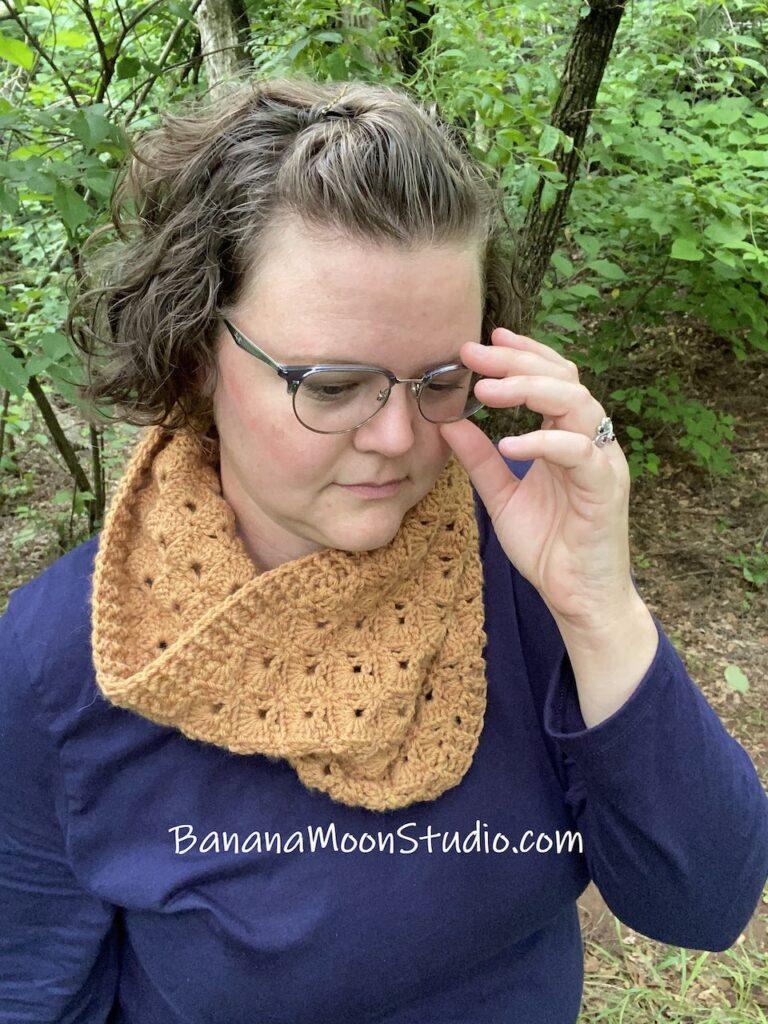 The Kenton Crochet Cowl by Banana Moon Studio