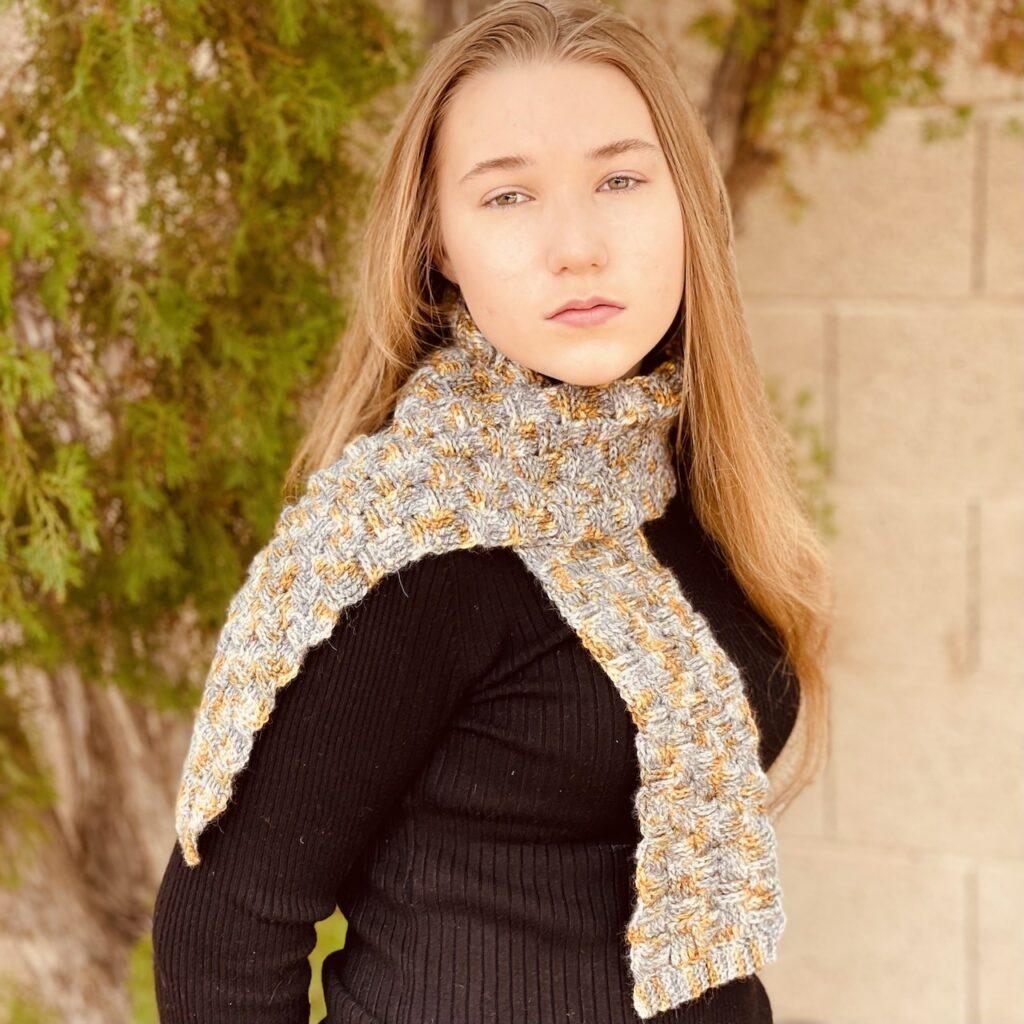 Crochet Fall Scarf